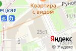 Схема проезда до компании Российский государственный музыкальный телерадиоцентр в Москве