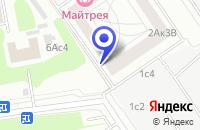 Схема проезда до компании ТД КАТЕРИНА в Москве