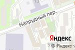 Схема проезда до компании Мосэкспертиза в Москве