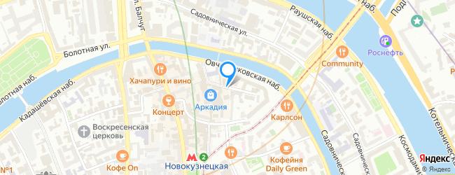 Средний Овчинниковский переулок