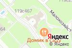 Схема проезда до компании Царский выбор в Москве