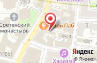 Схема проезда до компании Ателье Мила-В в Москве