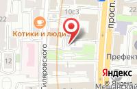 Схема проезда до компании Глобалинжпроект в Москве