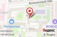Схема проезда до компании Пром Технология в Москве