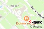 Схема проезда до компании Прямые связи в Москве