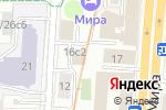 Схема проезда до компании Event Collection в Москве