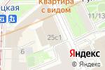 Схема проезда до компании РУСКОНЦЕРТ в Москве