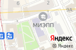 Схема проезда до компании Московский институт экономики в Москве