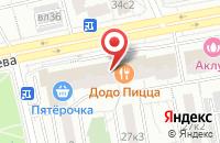 Схема проезда до компании Финансовая Депозитарная Компания Плюс в Москве