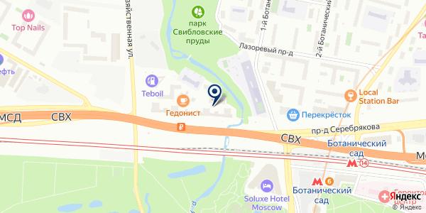 МИР ИНКУБАТОРОВ на карте Москве