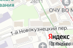 Схема проезда до компании I Need You Space в Москве