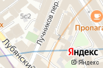 Схема проезда до компании Паспарту в Москве