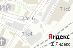 Схема проезда до компании Империя льна в Москве