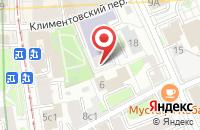 Схема проезда до компании Юниолинкс в Москве