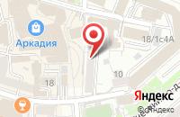 Схема проезда до компании Центр Танца  в Москве
