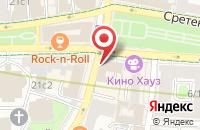 Схема проезда до компании Пресса в Москве