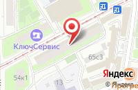 Схема проезда до компании Рекламная Группа «Артес» в Москве