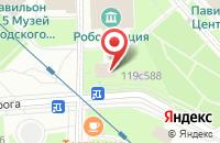 Схема проезда до компании Лазурит Плюс в Москве