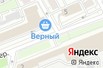 Схема проезда до компании Монблан Декор в Москве