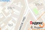 Схема проезда до компании Банк Возрождение в Москве