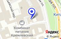 Схема проезда до компании МУЗЕЙ АРХИТЕКТУРЫ И ЖИВОПИСИ XVII ВЕКА в Москве