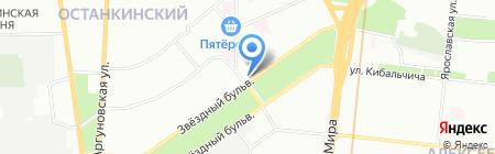 Бизнес-Информ на карте Москвы
