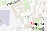 Схема проезда до компании Дентал АВ в Москве