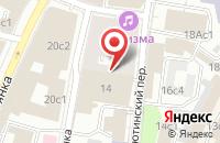 Схема проезда до компании Бюро Рекламных Услуг «Центр Плюс» в Москве