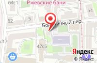 Схема проезда до компании Холдинг-Строй в Москве