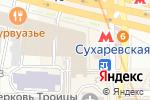 Схема проезда до компании Либерти в Москве