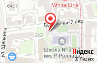 Схема проезда до компании Грация в Подольске