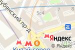 Схема проезда до компании Бон Вояж М в Москве