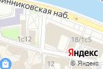 Схема проезда до компании Федеральная служба по военно-техническому сотрудничеству в Москве