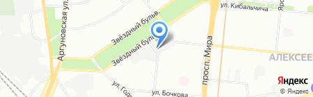 Bit Craft на карте Москвы