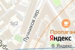 Схема проезда до компании Djam в Москве