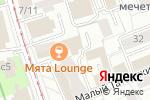 Схема проезда до компании Lions Lair в Москве