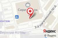 Схема проезда до компании Земное Время в Москве
