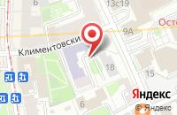Схема проезда до компании Юнионлинкс в Москве