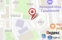 Схема проезда до компании Аура-Радио в Москве