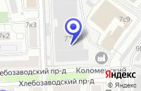 Схема проезда до компании СЕРВИСНЫЙ ЦЕНТР ЗЕТ АВТО в Москве