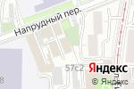 Схема проезда до компании Ариэль Металл в Москве