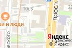 Схема проезда до компании BERRY agency в Москве