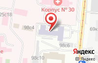 Схема проезда до компании Демаг Делавал Индастриал Турбомашинери в Москве