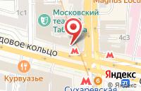 Схема проезда до компании Агентство  в Москве