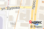 Схема проезда до компании Развитие города в Москве