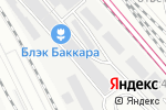 Схема проезда до компании Коворкинг на Рижской в Москве
