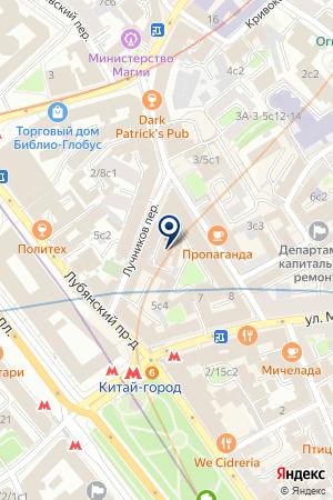 ЮРИДИЧЕСКАЯ КОНСУЛЬТАЦИЯ ГАЛАКС на карте Москвы