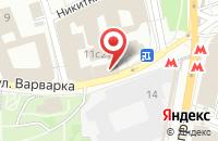 Схема проезда до компании Аларан в Москве