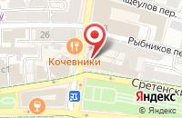 Схема проезда до компании Индиго Медиа Груп в Москве