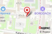Схема проезда до компании Интеллект-21 Век в Москве